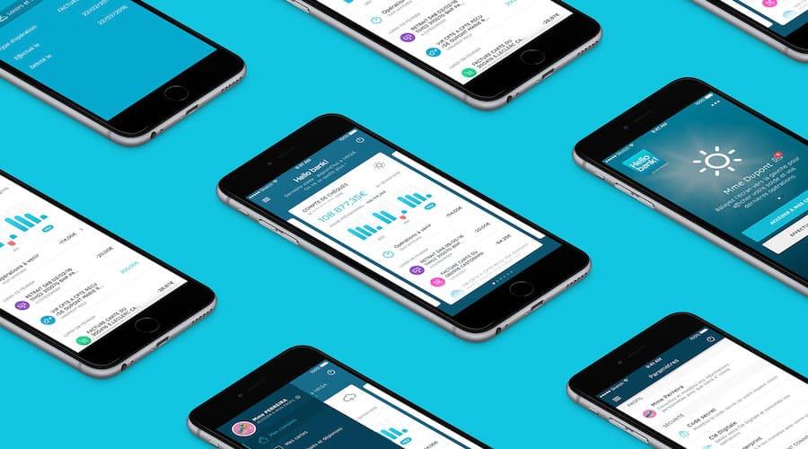 application hello bank design
