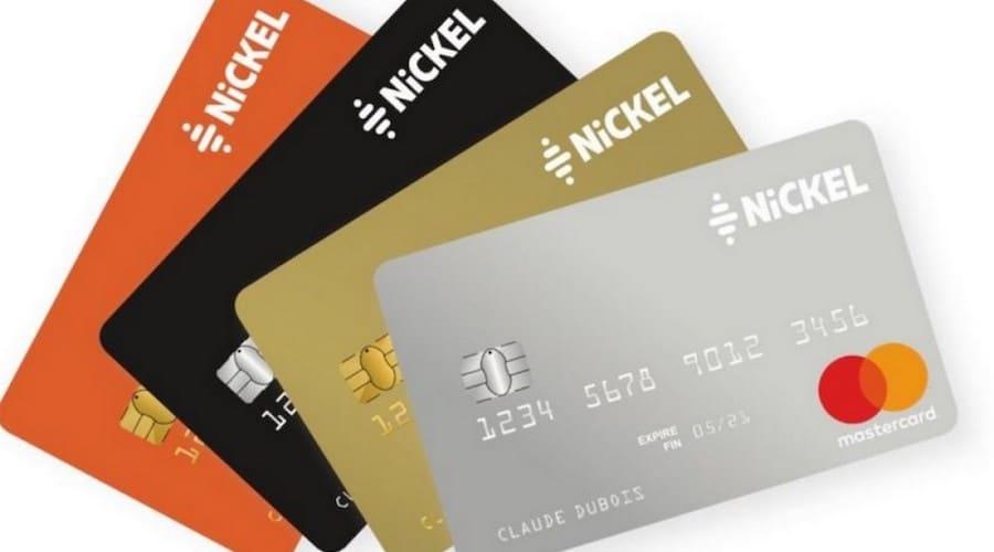 cartes mastercard du compte nickel